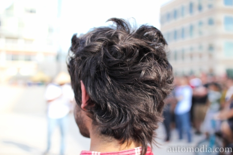 The hair...its kinda famous!