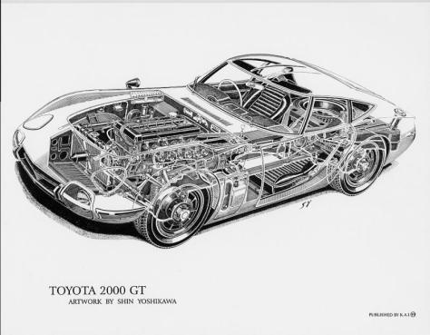 Toyota_2000GT_cutaway_by_Shin_Yoshikawa_77205235_std